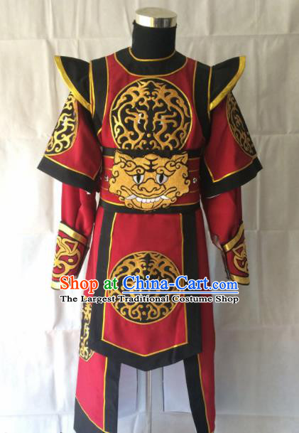 Traditional Chinese Beijing Opera Takefu Costume Peking Opera Swordsman Clothing