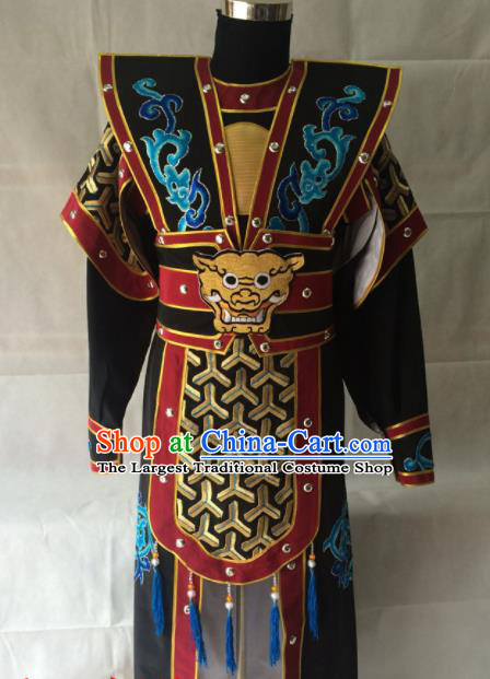 Traditional Chinese Beijing Opera Costume Peking Opera General Armor