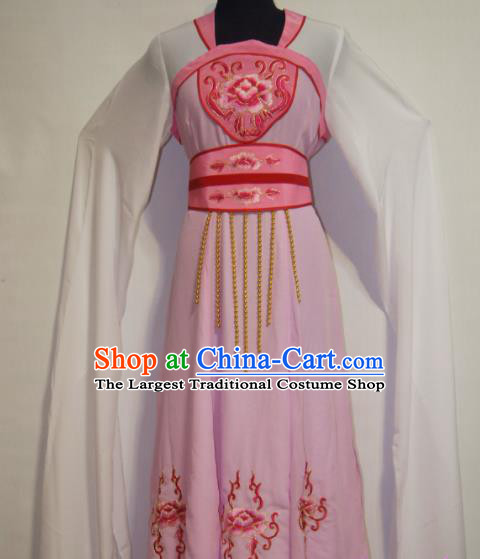 Traditional Chinese Beijing Opera Actress Costume Ancient Peri Court Maid Dress for Women