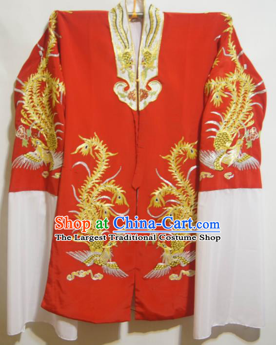 Traditional Chinese Beijing Opera Actress Costume Ancient Palace Queen Red Dress for Women