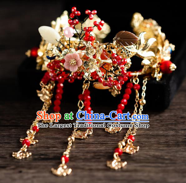 Chinese Ancient Hanfu Jewelry Accessories Traditional Wedding Tassel Bracelet for Women