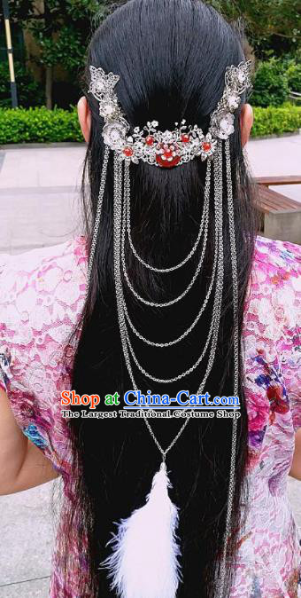 Chinese Ancient Princess Hair Accessories Traditional Hanfu Hair Clasp Hairpins for Women