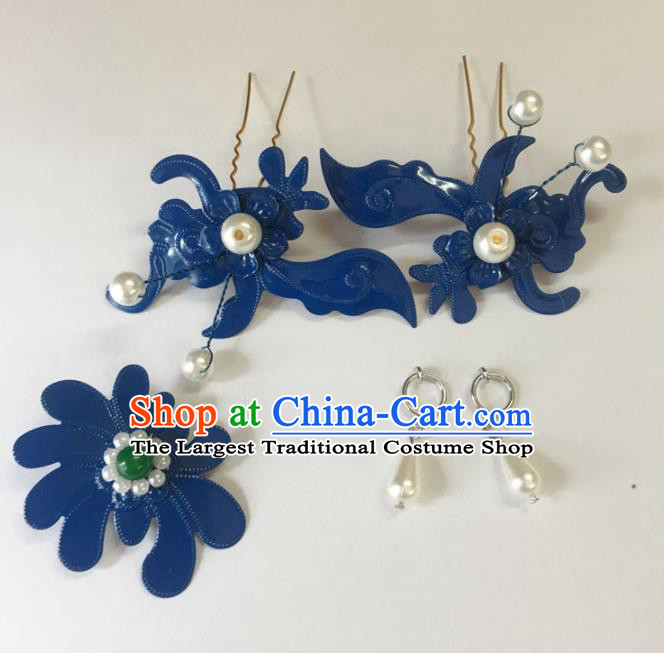 Chinese Ancient Palace Hairpins Hair Accessories Traditional Hair Clips for Women