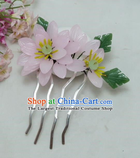 Chinese Ancient Hairpins Palace Queen Hair Accessories Traditional Hair Comb for Women