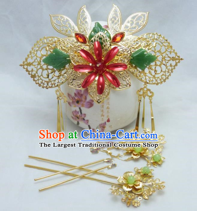 Chinese Ancient Hair Accessories Traditional Palace Hairpins for Women