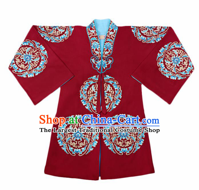 Professional Chinese Traditional Beijing Opera Old Women Costume Peking Opera Clothing for Adults