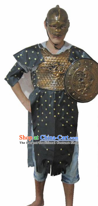 Traditional Roman Costume Ancient Rome Warrior Clothing for Men