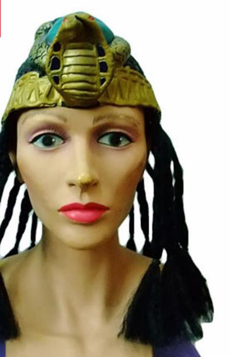 Traditional Egyptian Hair Accessories Ancient Egypt Queen Golden Hair Crown for Women