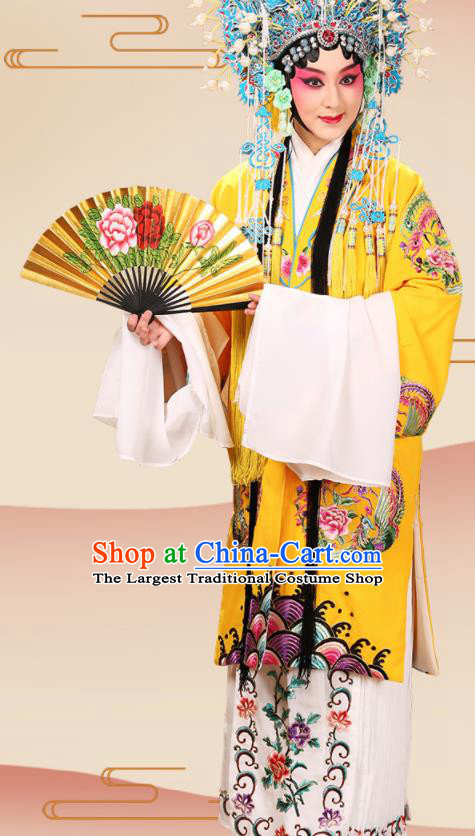Professional Chinese Traditional Beijing Opera Imperial Concubine Embroidered Costume for Adults