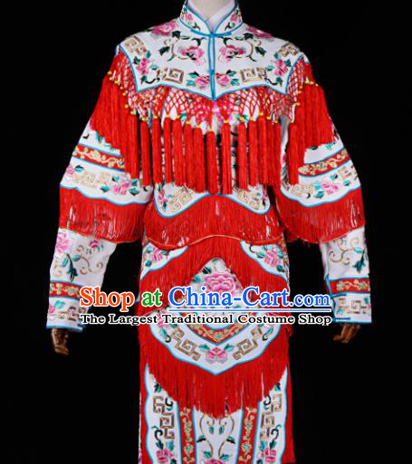 Professional Chinese Traditional Beijing Opera Costume Ancient Female Soldier Clothing for Adults