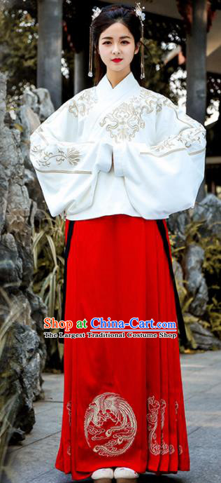 Chinese Ancient Traditional Ming Dynasty Palace Princess Replica Costume for Women
