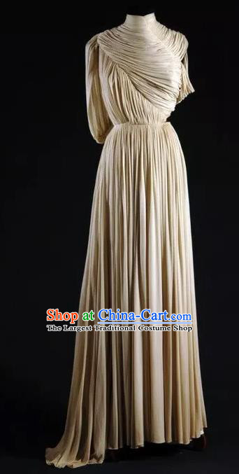 Traditional Greek Costume Strophion Peplos Ancient Greece Goddess Dress for Women
