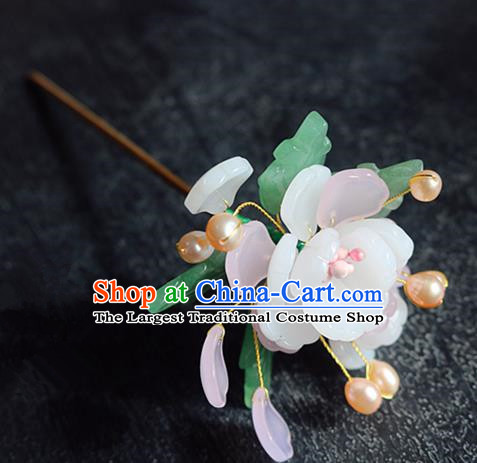 Chinese Ancient Handmade Flowers Hairpins Traditional Classical Hair Accessories for Women