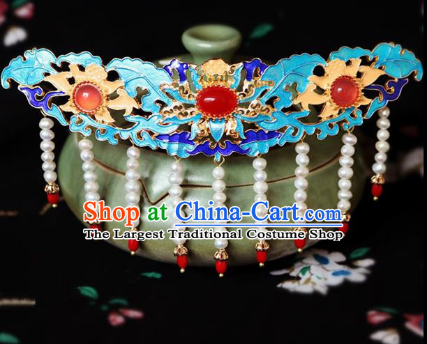 Chinese Ancient Handmade Palace Hair Crown Hairpins Traditional Classical Hair Accessories for Women