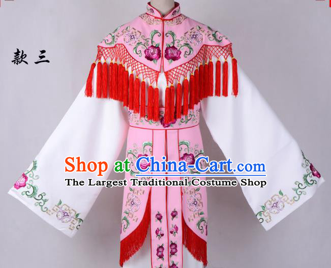 Professional Chinese Traditional Beijing Opera Costume Peri Embroidered Dress for Adults