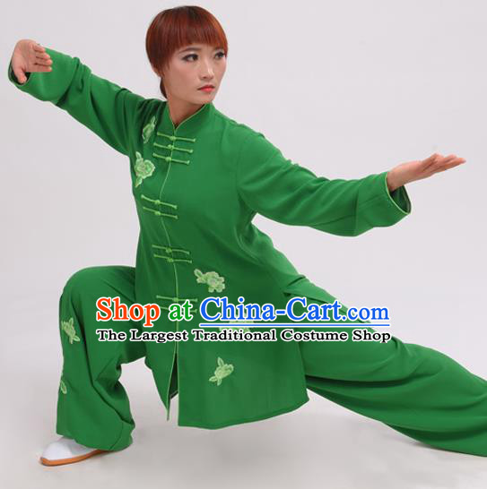 Chinese Traditional Tai Chi Costume Martial Arts Tai Ji Competition Clothing for Women
