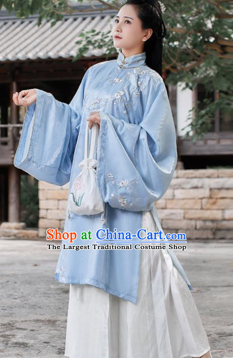 Chinese Traditional Ancient Hanfu Dress Ming Dynasty Palace Lady Historical Costume for Women