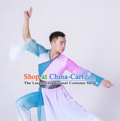Chinese Traditional National Dance Clothing Classical Dance Drum Dance Costume for Men