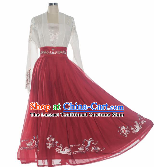 Chinese Ancient Drama Palace Lady Costume Traditional Tang Dynasty Princess Hanfu Dress for Women