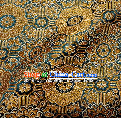 Asian Traditional Kimono Classical Pattern Damask Brocade Fabric Japanese Kyoto Tapestry Satin Silk Material
