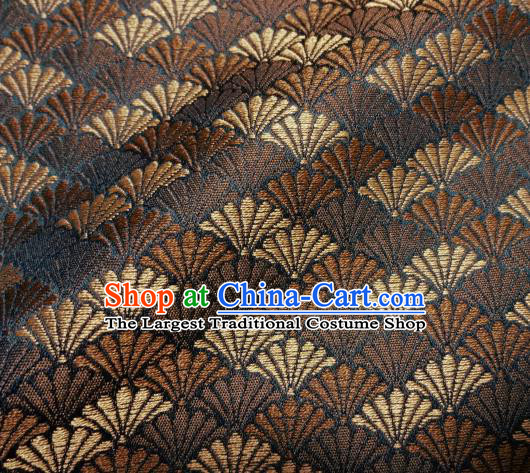 Asian Traditional Kimono Classical Pine Pattern Damask Brocade Fabric Japanese Kyoto Tapestry Satin Silk Material