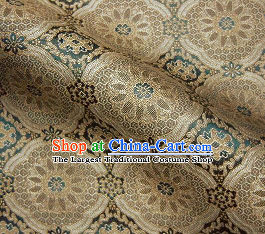 Asian Traditional Kyoto Kimono Classical Pattern Damask Brocade Fabric Japanese Tapestry Satin Silk Material