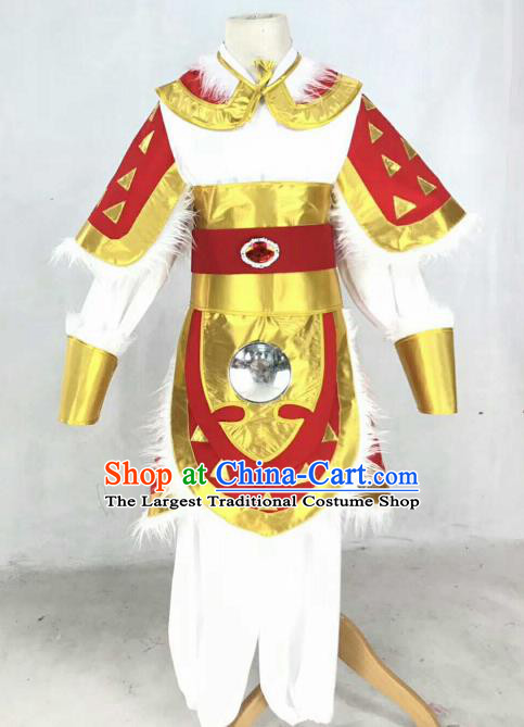 Chinese Traditional Beijing Opera Takefu Clothing Ancient Swordsman Costume for Men
