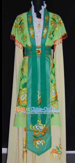 Chinese Traditional Beijing Opera Actress Peri Dress Peking Opera Princess Embroidered Costume for Women