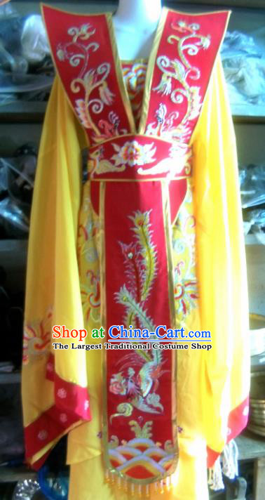 Chinese Traditional Beijing Opera Empress Dress Ancient Queen Embroidered Costume for Women