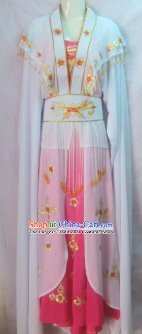Chinese Traditional Beijing Opera Young Lady Dress Ancient Peri Embroidered Costume for Women