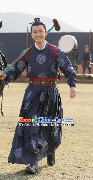 Drama The Story Of MingLan Chinese Ancient Song Dynasty Nobility Childe Swordsman Historical Costume for Men