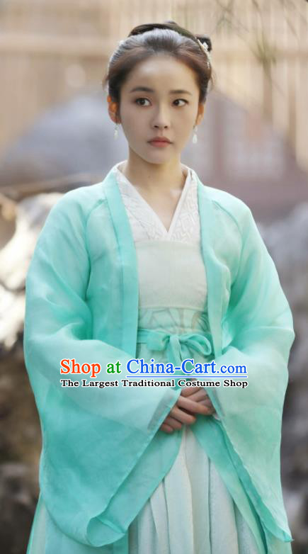 Drama The Story Of MingLan Traditional Chinese Ancient Nobility Lady Replica Costume for Women
