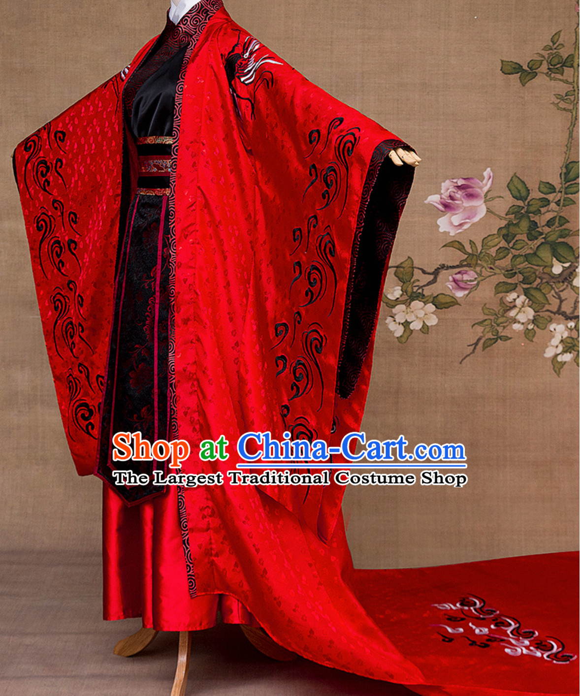 Ancient Chinese Empress Royal Dress Complete Set