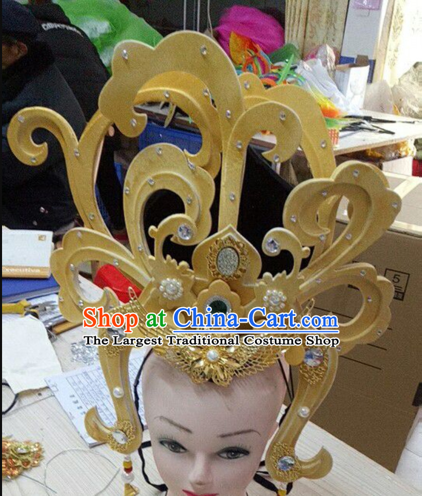 Ancient Chinese Style Flying Angel Fei Tian Handmade Hair Jewelry