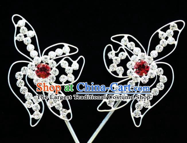 Chinese Ancient Princess Hairpins Traditional Peking Opera Artiste Hair Accessories for Women