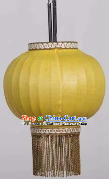 8 Inch Chinese Traditional Handmade Lantern Bamboo Weaving Palace Lanterns