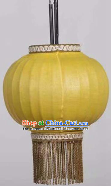 28 Inch Chinese Traditional Handmade Lantern Bamboo Weaving Palace Lanterns
