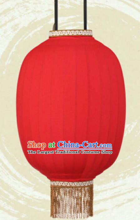Chinese Traditional Red Hanging Lantern Handmade New Year Palace Lanterns