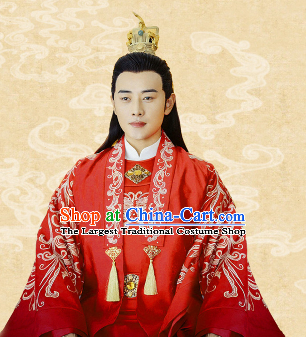 Tang Dynasty Imperial Wedding Dress for Bridegroom