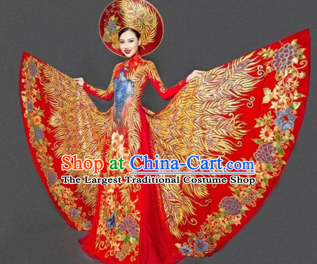 Top Traditional Vietnam Wedding Dresses Complete Set for Bride