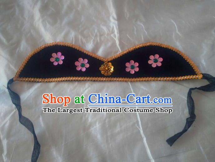 Chinese Traditional Beijing Opera Old Women Headwear Ancient Dowager Countess Hair Clasp for Women
