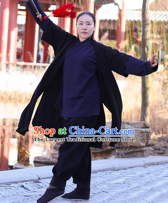 Chinese Traditional Martial Arts Costume Kung Fu Tai Chi Competition Clothing for Women