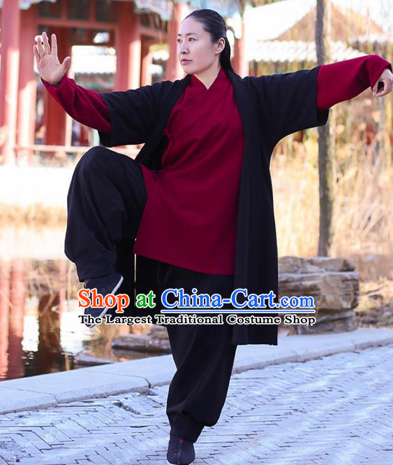 Chinese Traditional Martial Arts Competition Costume Kung Fu Tai Chi Clothing for Women