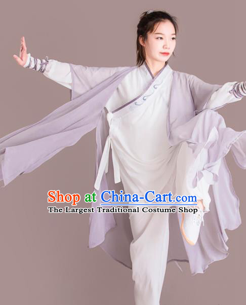 Chinese Traditional Kung Fu Costume Martial Arts Competition Tai Chi Clothing for Women