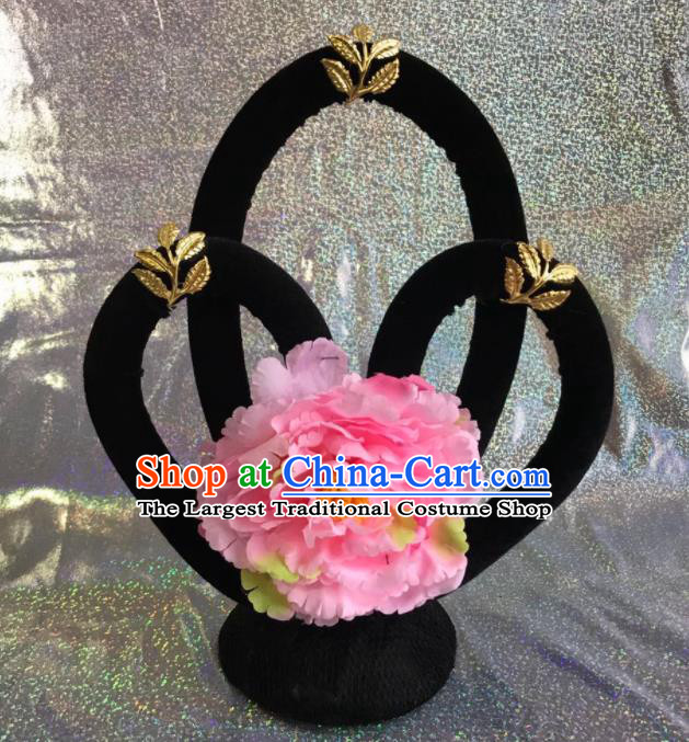 Chinese Traditional Beijing Opera Young Lady Wigs Peking Opera Peri Hair Accessories for Women