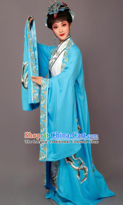 Chinese Traditional Peking Opera Queen Embroidered Dress Beijing Opera Hua Dan Costume for Women