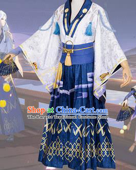 Chinese Traditional Ancient Swordsman Costume Cosplay Knight Clothing for Men