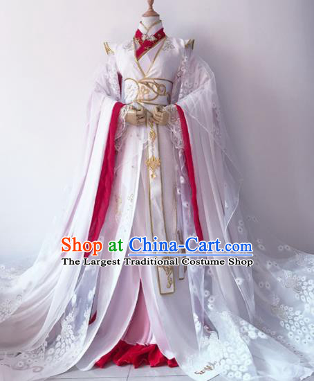 Chinese Traditional Cosplay Princess Costume Ancient Imperial Consort Hanfu Dress for Women