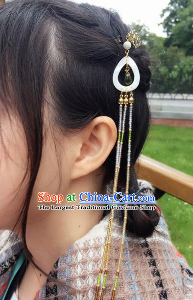 Traditional Chinese Hanfu Palace Shell Hair Claw Hair Accessories Ancient Imperial Consort Hairpins for Women