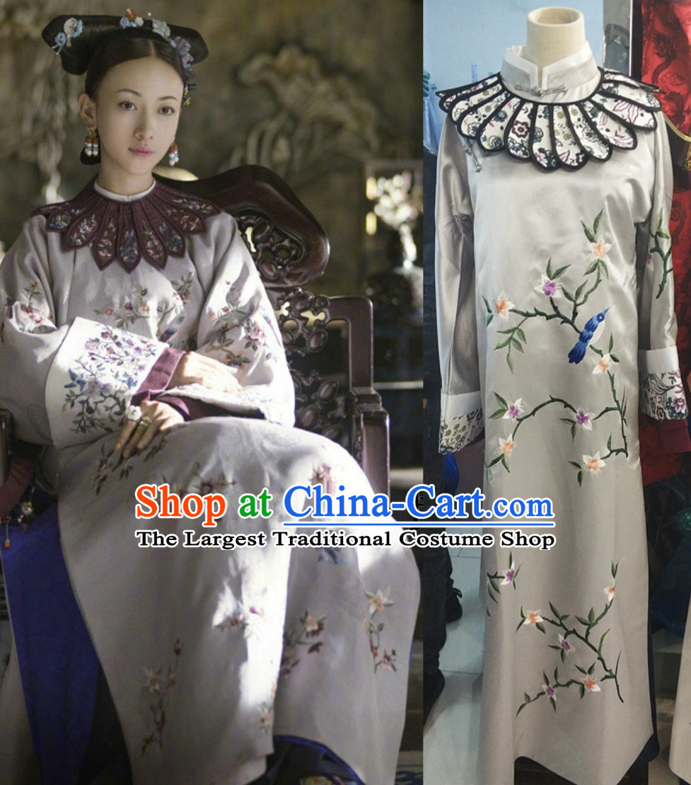 Qing Dynasty Empress Costumes Clothing for Women